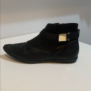 Black Calvin Klein Ankle Boot Size US 8.5